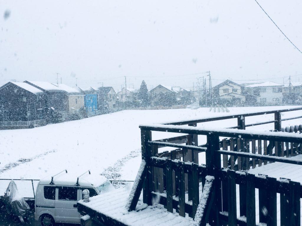 積雪20180122