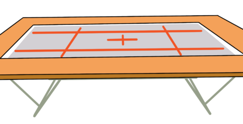 トランポリン本体