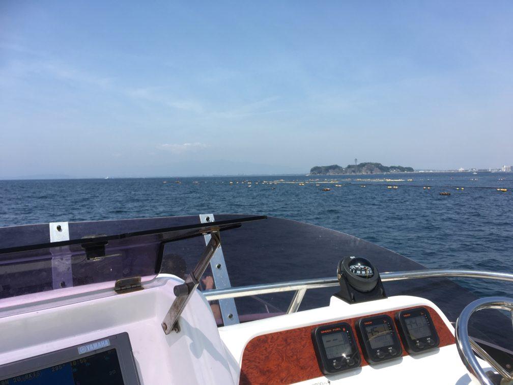 レンタルボードで江ノ島方面