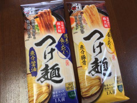 五木魚介豚骨・魚介醤油