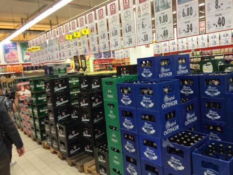 水よりビールが安い