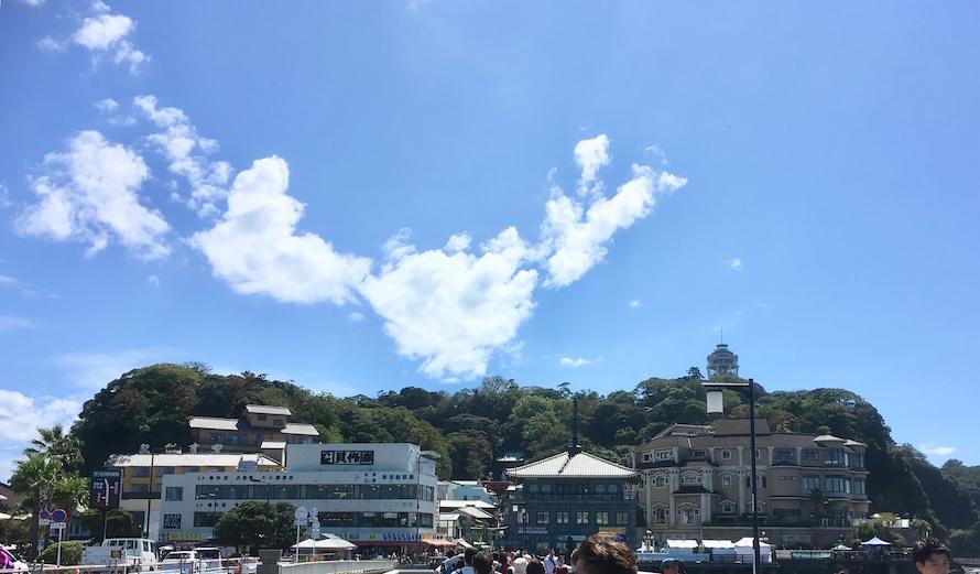 いざ江ノ島へ