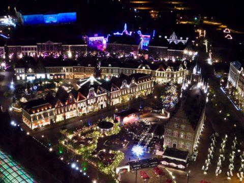 ハウステンボス夜の街並み