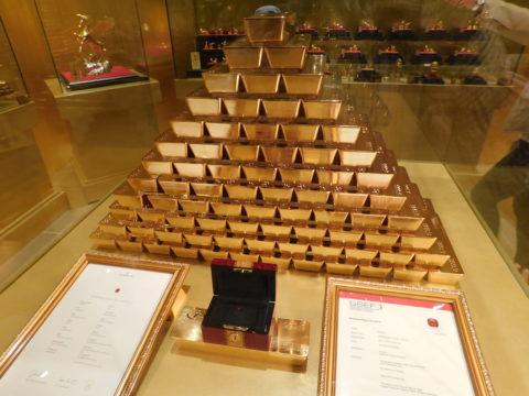 ハウステンボス黄金の館