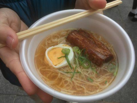 神戸中華街の角煮ラーメン