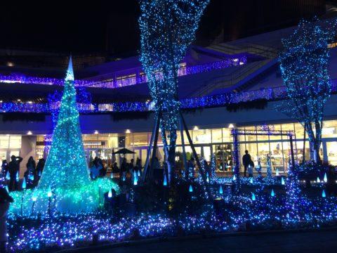 テラスモール湘南のイルミネーション2015年12月