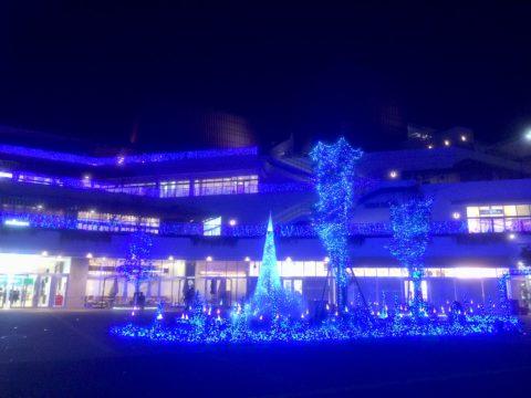 テラスモール湘南のイルミネーション2016年11月