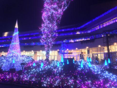 テラスモール湘南のイルミネーション2017年12月