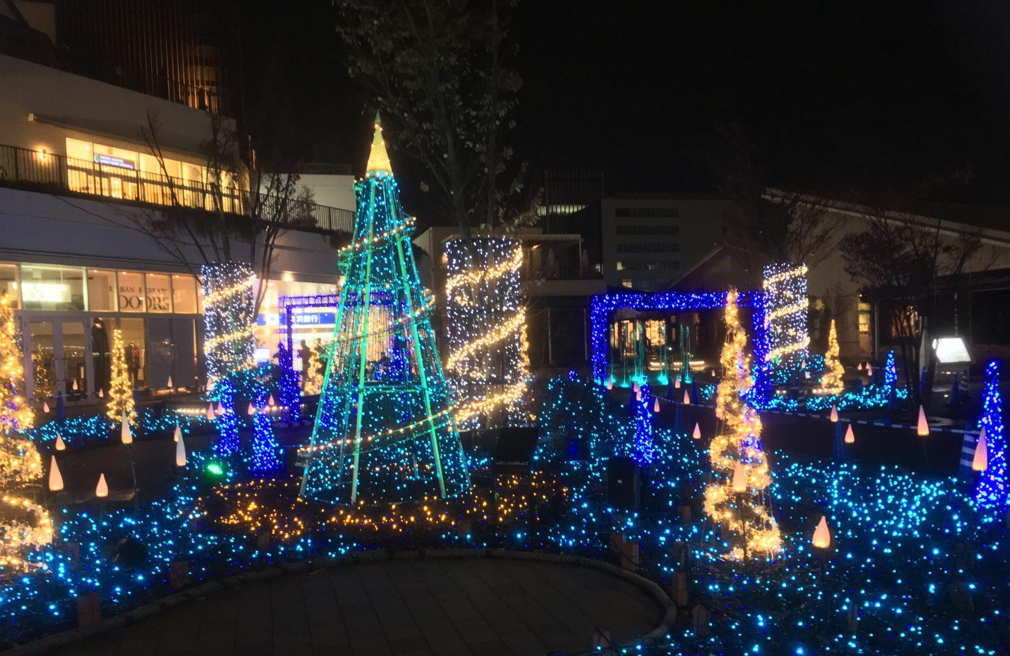 テラスモール湘南のイルミネーション2018年11月