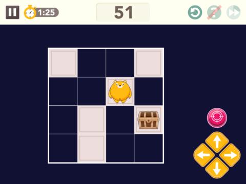 スキャン迷路の問題4x4